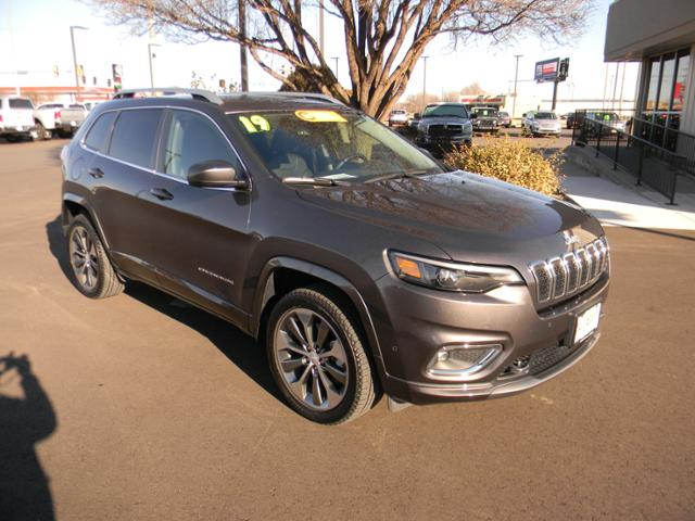 Certified Pre-Owned 2019 Jeep Cherokee Overland 4x4