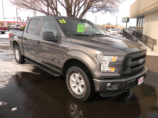 Pre-Owned 2015 Ford F-150 4WD SuperCrew 145 XL