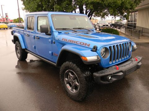 Pre-Owned 2020 Jeep Gladiator Rubicon 4x4 4WD