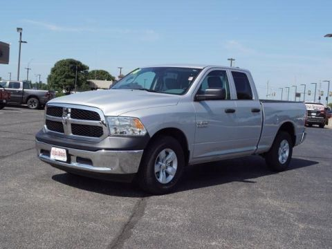 Certified Pre-Owned 2018 Ram 1500 Tradesman 4x2 Quad Cab 6'4 Box
