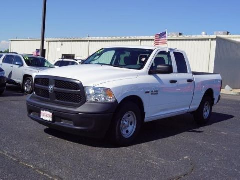 Pre-Owned 2017 Ram 1500 Tradesman 4x2 Quad Cab 6'4 Box