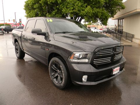Certified Pre-Owned 2016 Ram 1500 2WD Crew Cab 140.5 Sport RWD Crew Cab Pickup