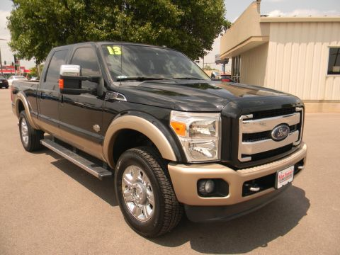 Pre-Owned 2013 Ford Super Duty F-250 SRW 4WD Crew Cab 156 King Ranch With Navigation & 4WD