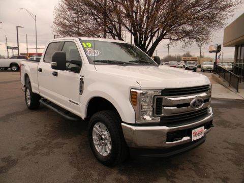 Pre-Owned 2019 Ford Super Duty F-350 SRW XLT 4WD Crew Cab 6.75' Box 4WD