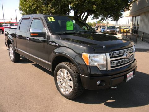 Pre-Owned 2012 Ford F-150 4WD SuperCrew 145 Platinum