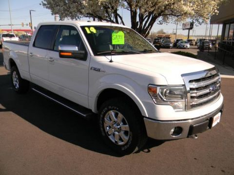 Pre-Owned 2014 Ford F-150 4WD SuperCrew 157 Lariat