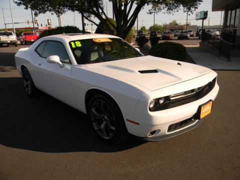 Certified Pre-Owned 2018 Dodge Challenger SXT Plus RWD