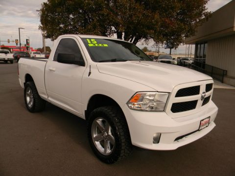 Certified Pre-Owned 2015 Ram 1500 4WD Reg Cab 120.5 Express