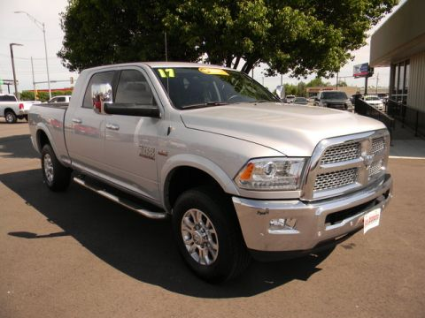 Certified Pre-Owned 2017 Ram 2500 Laramie 4x4 Mega Cab 6'4 Box