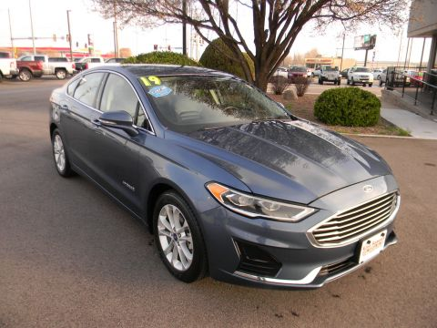 Pre-Owned 2019 Ford Fusion Hybrid SEL FWD FWD 4dr Car
