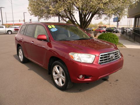 Pre-Owned 2008 Toyota Highlander 4WD 4dr Limited 4WD